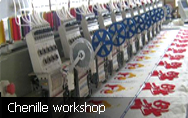 chenille patches workshop